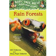 Magic Tree House Research Guide #5: Rain Forests 神奇树屋小百科系列5:雨林 9780375813559/Will