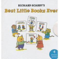 Richard Scarry's Best Little Books Ever (My Mini Book Collection)斯凯瑞童书-故事精选(迷你精装板书)ISBN 9781402785658/Richard